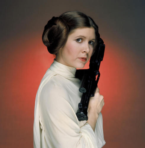 STAR WARS: EPISODE IV - A NEW HOPE USA 1977 George Lucas Princess Leia Organa (CARRIE FISHER) Regie: George Lucas. Image shot 2008. Exact date unknown.